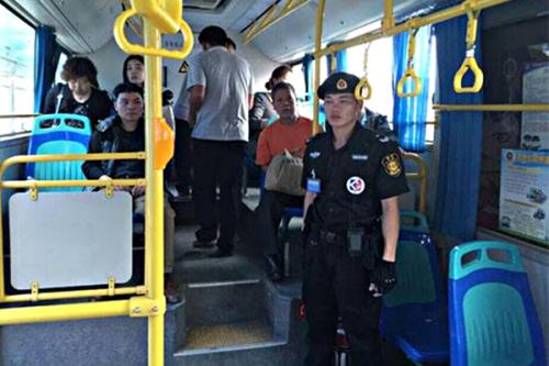 上海青浦公交安保服务